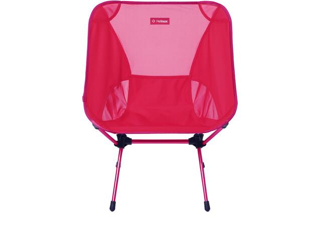 Helinox Chair One L, red block/burgundy